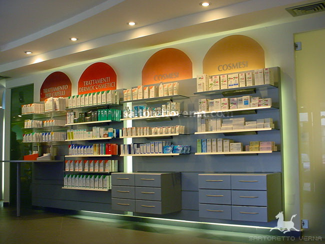 Muebles Para Farmacia De Melamina : Mobiliario farmacia sartoretto verna arquitectura y