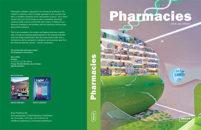 """Pharmacies book A partir de Noviembre en su librería: """"Pharmacies"""". Con una selección de 5 de nuestras farmacias"""